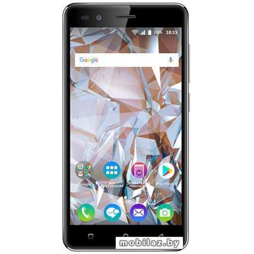 Смартфон BQ-Mobile BQ-5054 Crystal (черный) фото 1