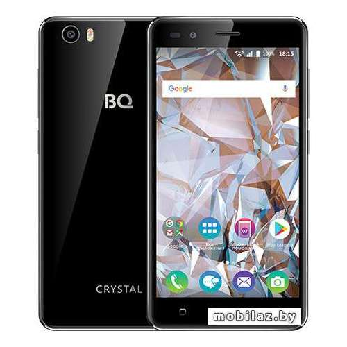 Смартфон BQ-Mobile BQ-5054 Crystal (черный) фото 2
