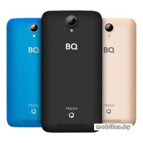 Смартфон BQ-Mobile Fresh Blue [BQS-5030] фото 2
