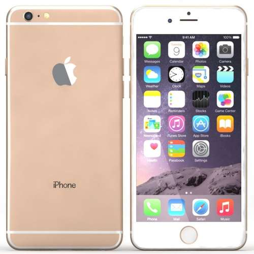 Смартфон Apple iPhone 6 Plus 16GB Gold фото 2