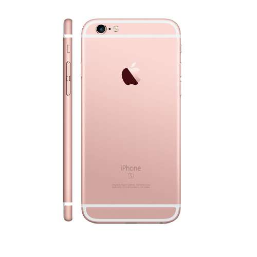 Смартфон Apple iPhone 6s 16GB Rose Gold фото 3