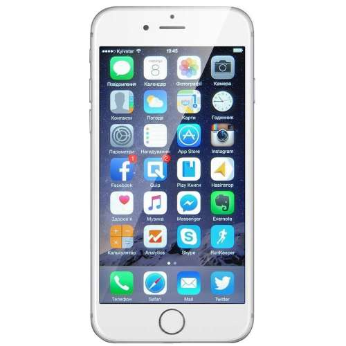 Смартфон Apple iPhone 6s 16GB Silver фото 1