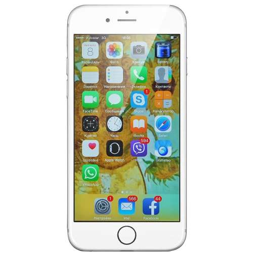 Смартфон Apple iPhone 6s Plus 128GB Silver фото 1