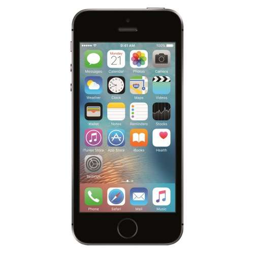 Смартфон Apple iPhone SE 16GB Space Gray фото 1