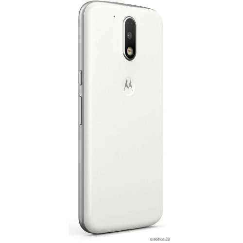 Смартфон Motorola Moto G4 Plus 64GB White [XT1642] фото 3