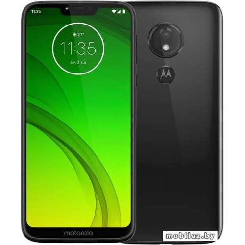 Смартфон Motorola Moto G7 Power 4GB/64GB (черный) фото 1
