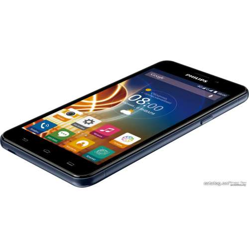 Смартфон Philips Xenium V526 Blue фото 3