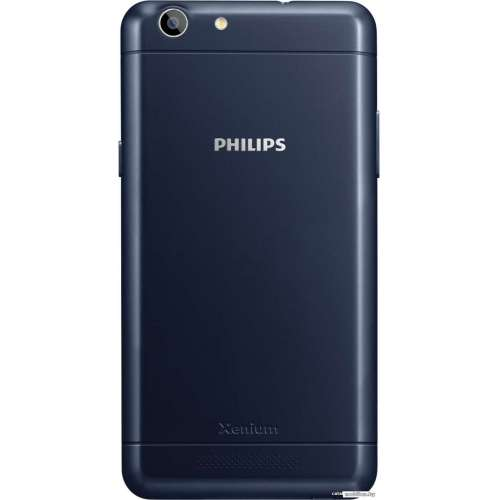 Смартфон Philips Xenium V526 Blue фото 4