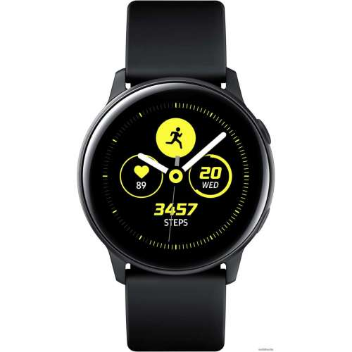Умные часы Samsung Galaxy Watch Active (черный сатин) фото 2