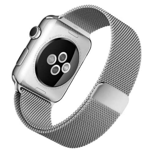 Умные часы Apple Watch 42mm Stainless Steel with Milanese Loop (MJ3Y2) фото 3