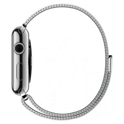 Умные часы Apple Watch 42mm Stainless Steel with Milanese Loop (MJ3Y2) фото 4