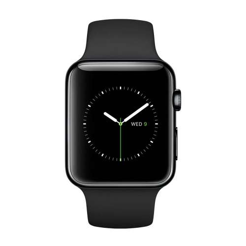 Умные часы Apple Watch Edition 38mm Space Black with Black Sport Band (MLCK2) фото 1
