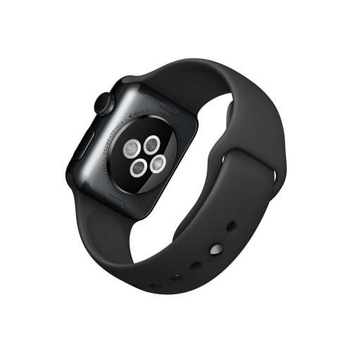 Умные часы Apple Watch Edition 38mm Space Black with Black Sport Band (MLCK2) фото 3