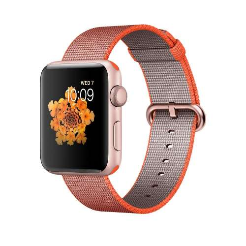 Умные часы Apple Watch Series 2 42mm Rose Gold with Woven Nylon [MNPM2] фото 2