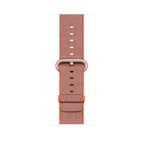Умные часы Apple Watch Series 2 42mm Rose Gold with Woven Nylon [MNPM2] фото 3