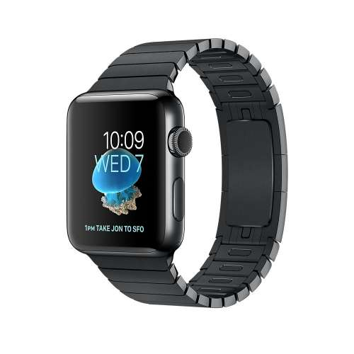 Умные часы Apple Watch Series 2 42mm Space Black with Link Bracelet [MNQ02] фото 2