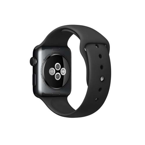 Умные часы Apple Watch Sport 42mm Space Gray with Black Sport Band (MJ3T2) фото 2