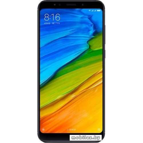 Смартфон Xiaomi Redmi 5 Plus 3GB/32GB (черный) фото 1