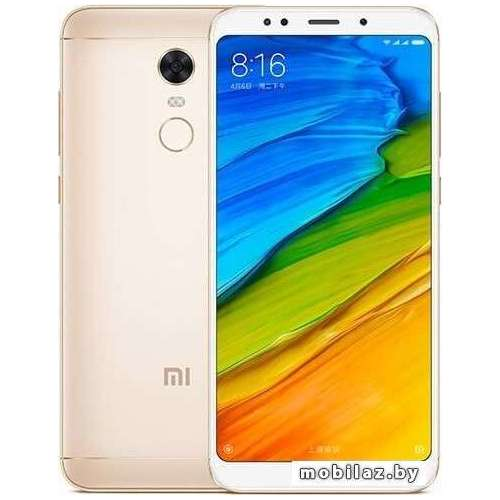 Смартфон Xiaomi Redmi 5 Plus 3GB/32GB (золотистый) фото 4
