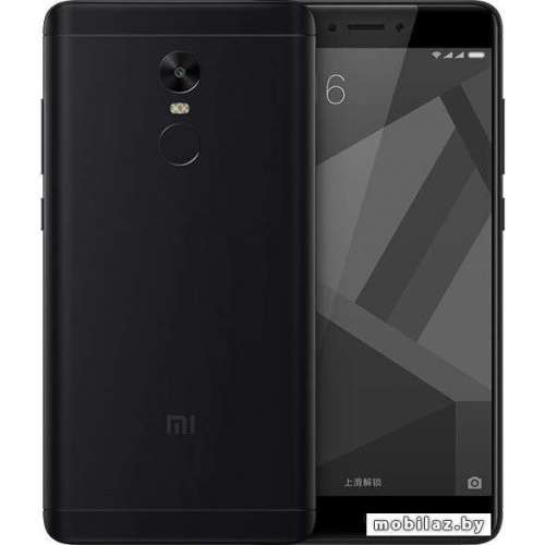 Смартфон Xiaomi Redmi Note 4X 3GB/16GB (черный) [2016101] фото 2